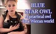 Blue Star Owl -- A practical owl in a Wiccan world.