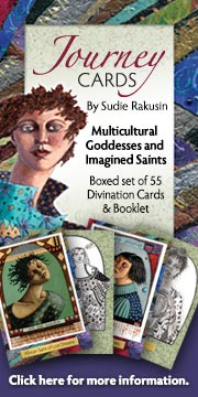 Winged Willow Journey Cards – Goddesses and Immgined Saints.