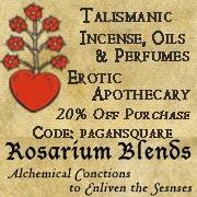 Rosarium Esoteric Oils.