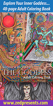 Goddess Coloring Book