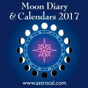 Moon Diary Calendar 2017
