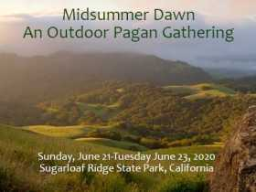 Midsummer Dawn--a Regional Pagan Event
