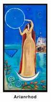 Arianrhod, Welsh Star Goddess of Reincarnation