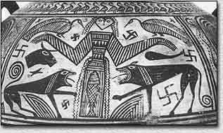The Swastika and the Flag