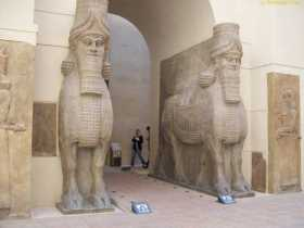 ISIL, Inanna, and the Lamassu