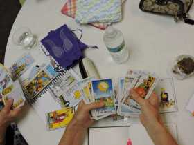 A Group Tarot Healing Ceremony