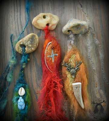 Snakestones, Hagstones and a Witch Burning