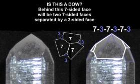 Metaphysical Quartz Crystal Description: DOW or TRANS-CHANNELER