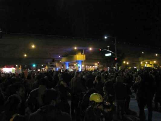 Staying awake - because of Ferguson