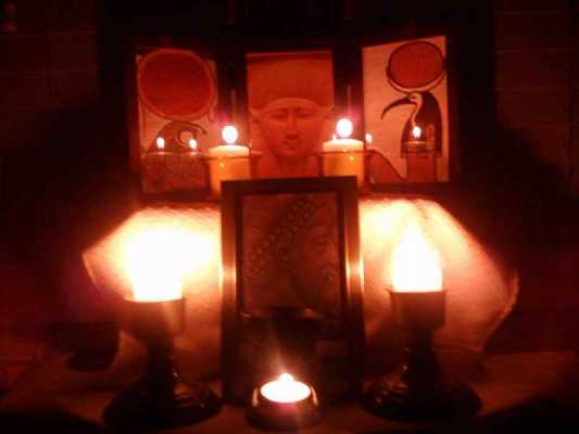 Setting Up a Shrine: One Kemetic's Method, Part I: Home Shrine