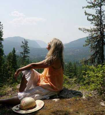 Visions at Mt. Shasta, California