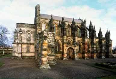 Scotlands Rosslyn Chapel, Mary Magdalene and Goddess Brede