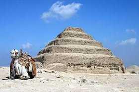 The Pyramids of Saqqara, Egypt