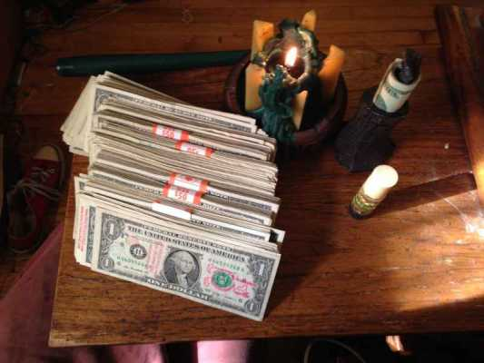 Pagan savings challenge, week thirty-two:  part of this complete working