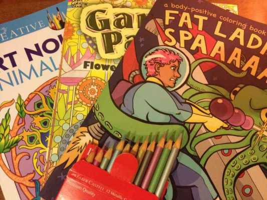 Coloring Books: A Meditation