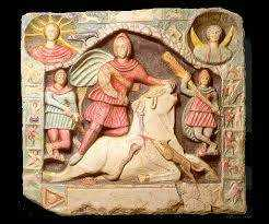 Are You Washed in the Blood of the Bull?  A Mithraic Anthem