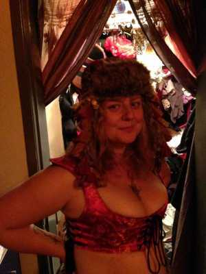 Swashbuckling Aphrodite? Steampunk Aphrodite?