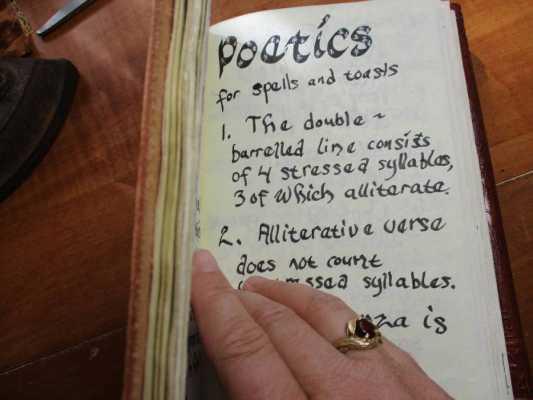 Writing a Poem Heathen Style