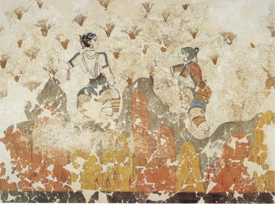 Minoan Coming of Age: The Akrotiri Frescoes