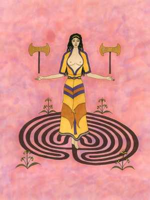 Walking the Labyrinth in Modern Minoan Paganism
