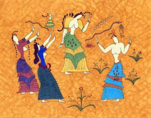Minoan Ecstatic Postures: Syncing with the divine
