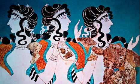 The Modern Minoan Pantheon: Pairs and Triplets