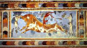 Red and White: The clues in the colors of Minoan art