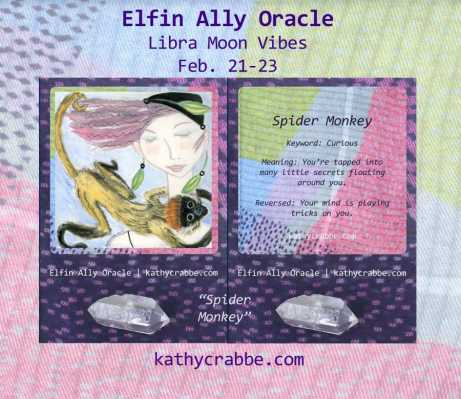 Monkey Business: Elfin Ally Oracle for the Libra Moon