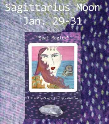You Hold the Keys: Sagittarius Moon Vibes Jan. 29-31