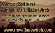 Byron Ballard -- Asheville's Village Witch -- Tarot Readings, Rootwork.