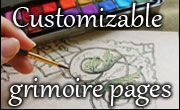 Customizable grimoire