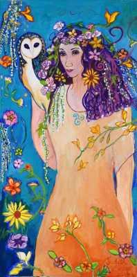 Blodeuwedd, Flower Goddess