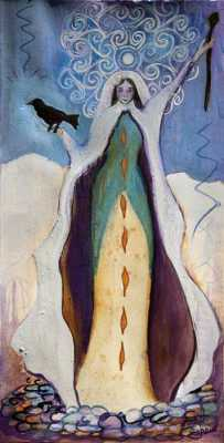 The Cailleach, Dark Winter Goddess
