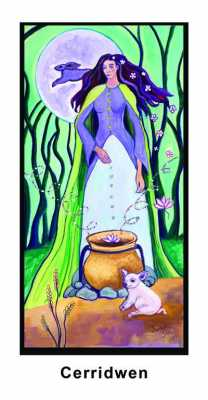 Cerridwen, Goddess of Transformation, Inspiration and Knowledge