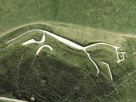 St George & The Uffington White Horse