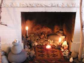Witchy Wellness Healing Altar