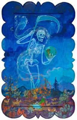 The Old Gods are with us always: Mictcacícatl, Santisima Muerte, and Day of the Dead