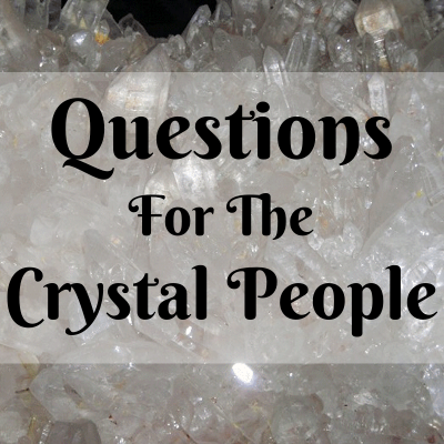 Question and Answer: Are There Any Negative Crystals/Gemstones