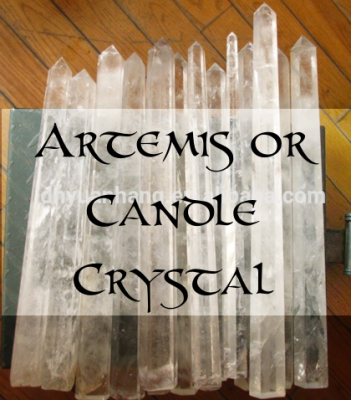 ARTEMIS or CANDLE Crystal - Speed Energy To Its Goal