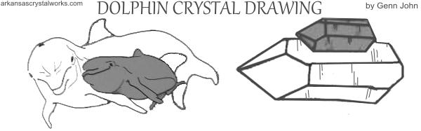 DOLPHIN CRYSTAL - encourage teaching/learning in a joyful way