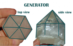 GENERATOR or MERLIN CRYSTAL - For Precise, Direct, Focused Energy