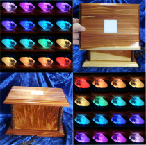 Lighted Crystal Display Boxes