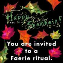 You're invited to a Samhain ritual