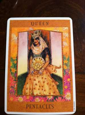 The Queen of Pentacles: Guide and Mentor