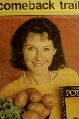 Potato/Wild Greens and Macrobiotic Cooking For Cancer
