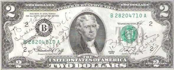 This 2-dollar bill tells the American story