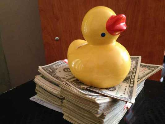 Pagan savings challenge, week thirty-four:  mutant duck