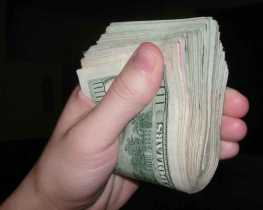 The power of cold, hard cash