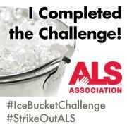 Moneyworking on the macro level:  the ALS ice bucket challenge