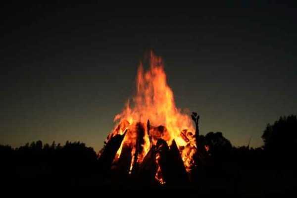 Oak Leaves and Bonfires